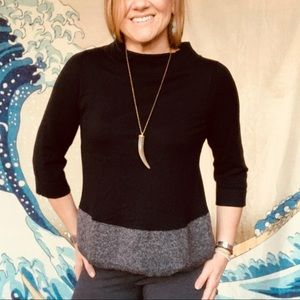 NWT Anthro Angel of North Evi cashmere Sweater S